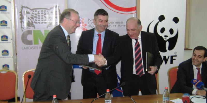 Armenia tourism MoU signing