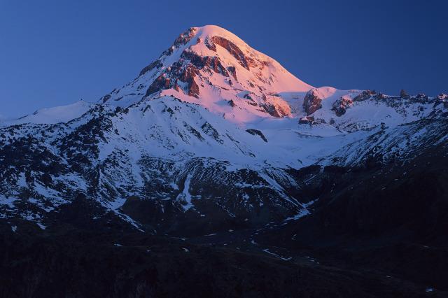 Kazebgi National Park, Georgia, Caucasus, Mount Kazbegi