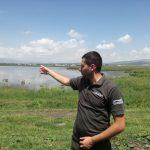 Ranger Vakho Mkrtichyan Photo: Caucasus Nature Fund (Joseph Alexander Smith)